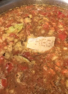 Choriz & Lentil Soup - Add Rest of the Ingredients