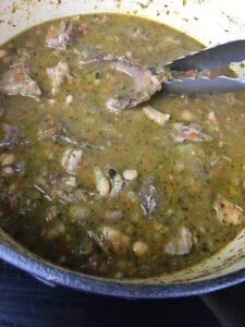 15 Bean Soup - Remove Bones