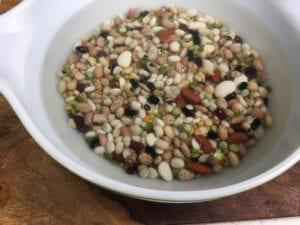 15 Bean Soup - Soak Beans