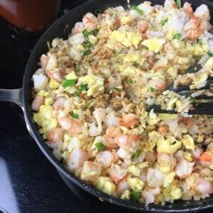 Easy Shrimp Fried Rice - Stir to Cook
