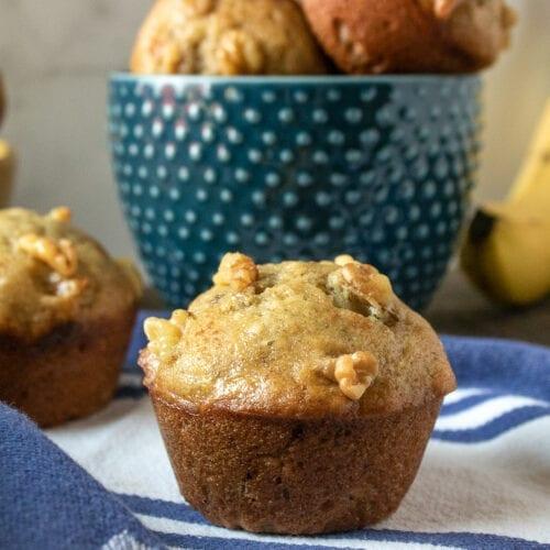 Banana & Nut Muffins