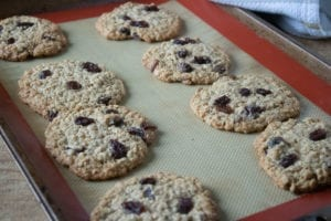 Oatmeal Cookies - Cook until golden brown